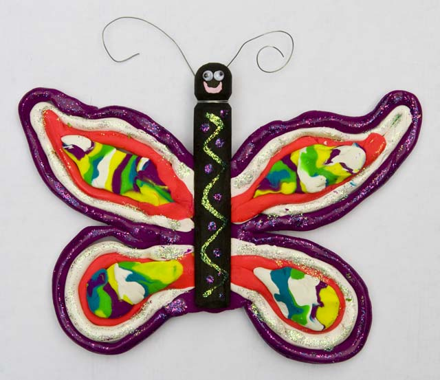 Kristin's award-winning butterfly creation