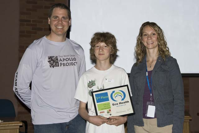 Jakob wins Eco Journalism award