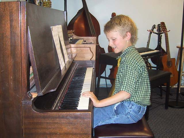 Piano recital (age 7)