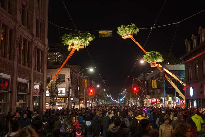 Queen Street West, Nuit Blanche 2014