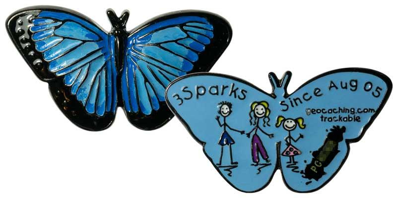 3Sparks - Morpho Butterfly