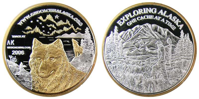Alaska 2006 (Silver w/Gold)