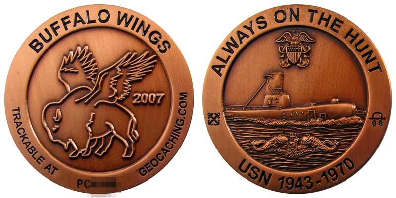 Buffalo Wings 2007 (Copper)