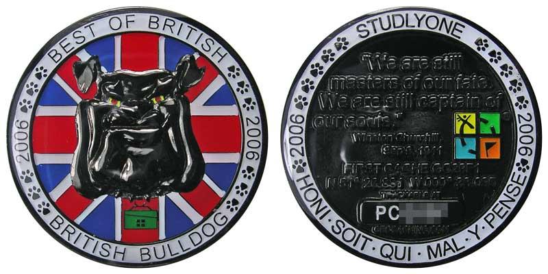 British Bulldog (Blk Nickel)