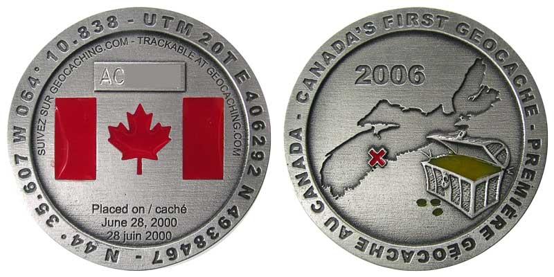 Canada's First Geocache