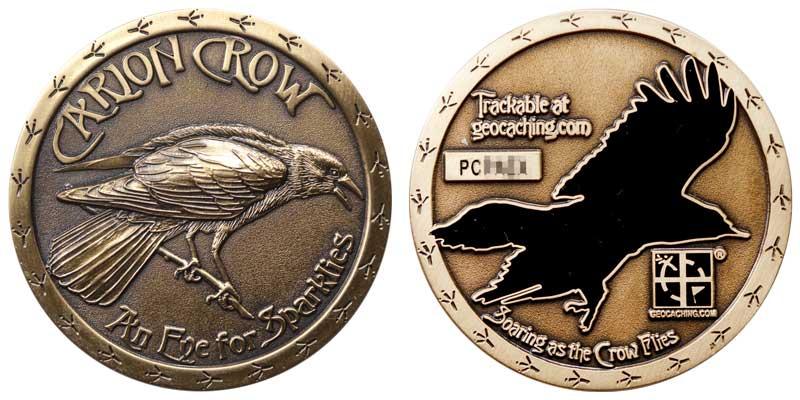 Carion Crow (Antique Gold)