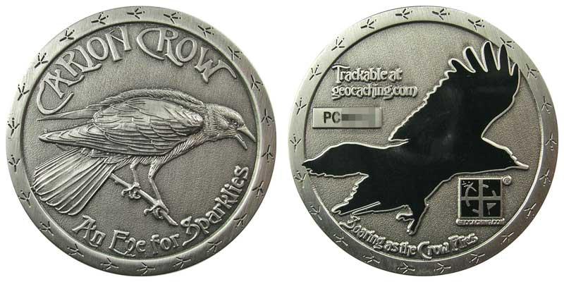 Carion Crow (Antique Silver)