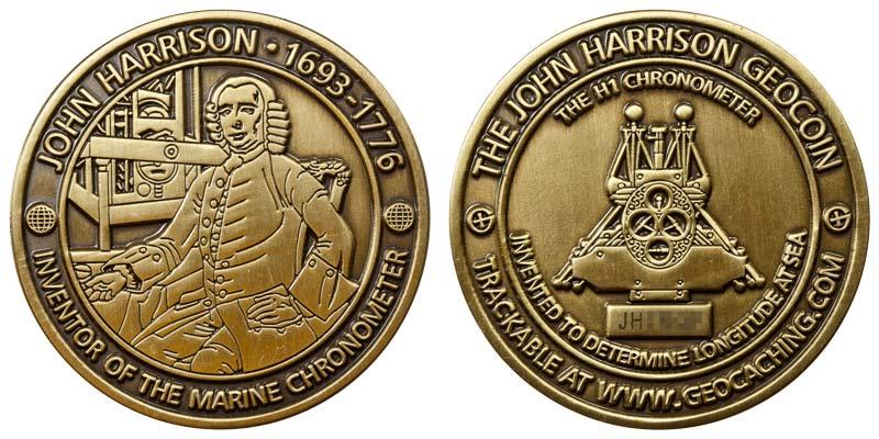 John Harrison Geocoin