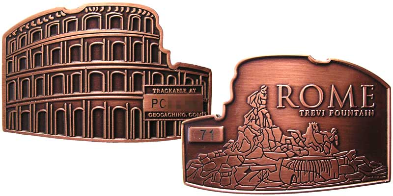 Rome - Coliseum (Copper)