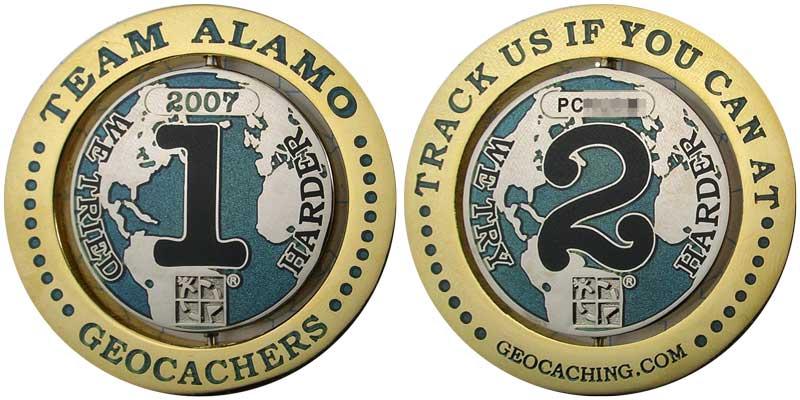 Team Alamo 1-2 (Gold/Nickel)