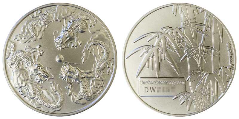 Triple Dragon (Satin Silver)
