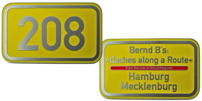 Bernd B's Route 208 (Chrome)