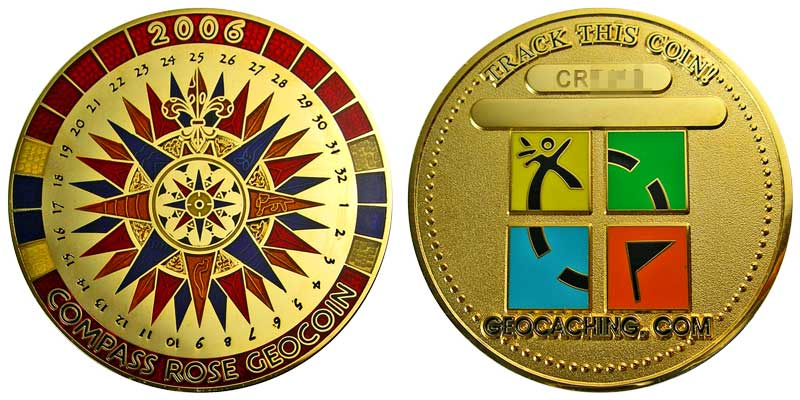 Compass Rose 2006 (Gold)
