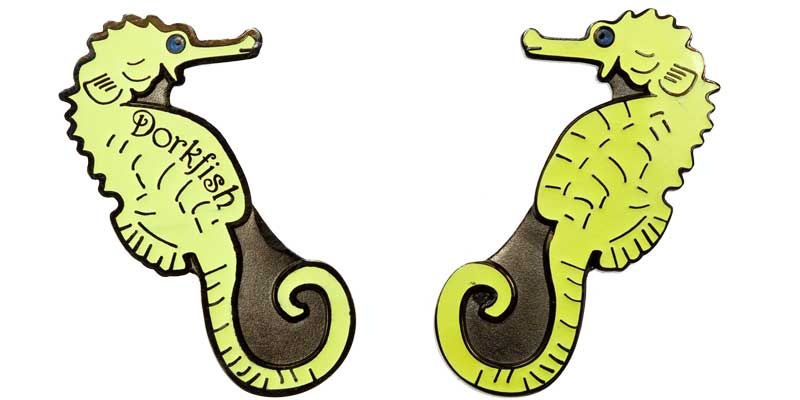 Dorkfish 2007 Seahorse (Glow)