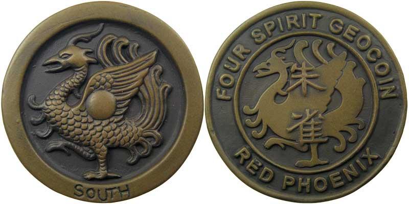 Four Spirit - Red Phoenix