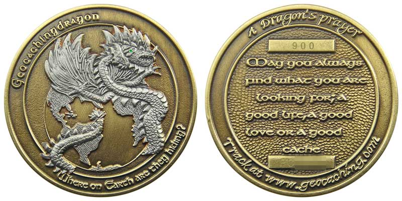 GeocachingDragon v1.2 (Ant Silver/Brass)