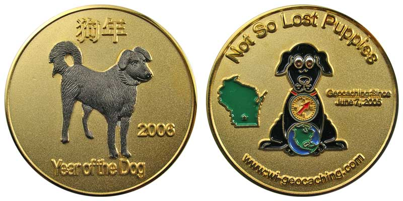 Not So Lost Puppies (Gold)