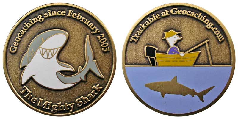 The Mighty Shark (Gold)